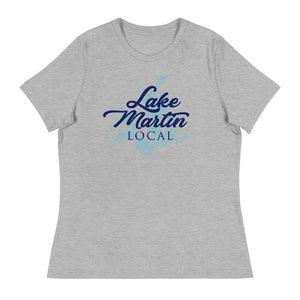 Lake Martin Local Women's Relaxed T-Shirt UnSalted Waters