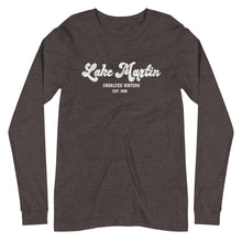 Lake Martin UnSalted Waters Unisex Long Sleeve Tee