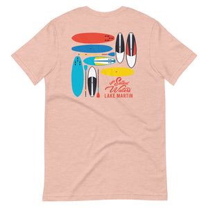 Lake Martin SUP Paddleboard Short-Sleeve Unisex T-Shirt