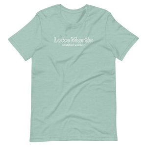 Lake Martin UnSalted Waters Short-Sleeve Unisex T-Shirt