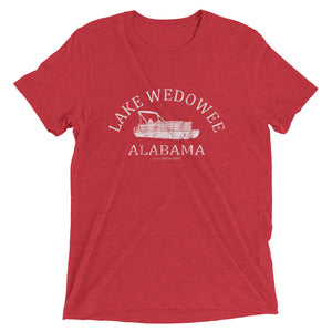 Lake Wedowee Tri-toon Short sleeve triblend t-shirt