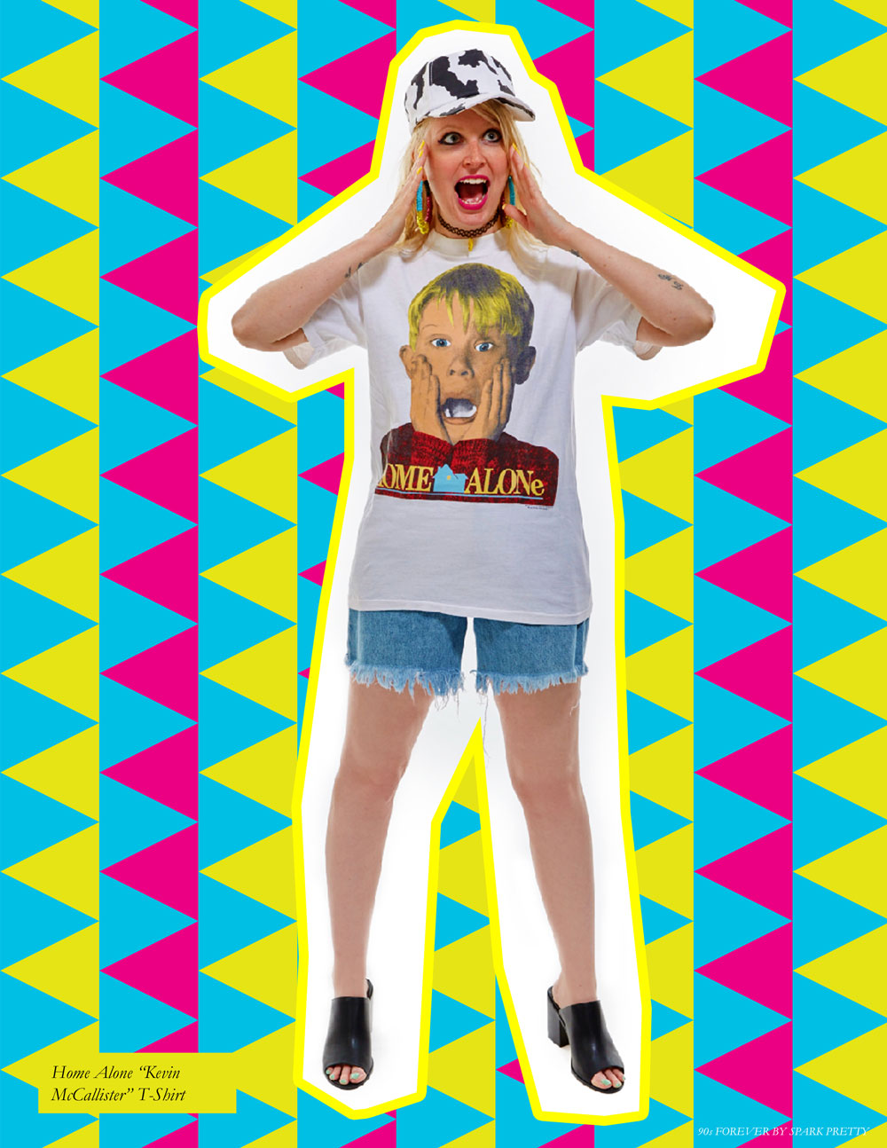 90s Forever Retro Vintage Fashion Apparel Lookbook - Home Alone T Shirt