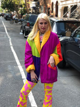 Vintage 90s Colorblock Jacket - Spark Pretty