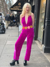 Velvet Plunging Jumpsuit by Get Crooked