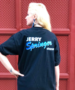 Vintage 90s Jerry Springer T-shirt - Spark Pretty