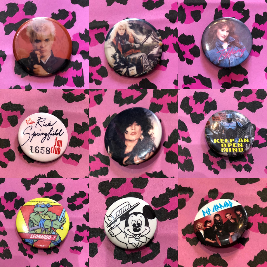 Vintage 80s Pin | Pins - 80s 90s Retro Vintage Clothing | Spark Pretty