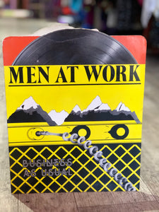 Vintage 80s Men at Work Novelty Organization Folder | Toys - 80s 90s Retro Vintage Clothing | Spark Pretty
