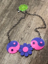 Pastel Flower Ying Yang Belt by Marina Fini - Spark Pretty