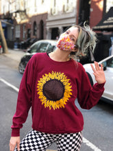 Vintage 90's Sunflower Sweatshirt | Sweaters - 80s 90s Retro Vintage Clothing | Spark Pretty