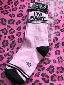 I'm Baby Socks by Gumball Poodle