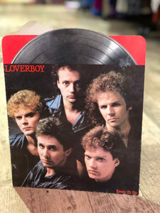 Vintage 80s Loverboy Novelty Organization Folder - Spark Pretty