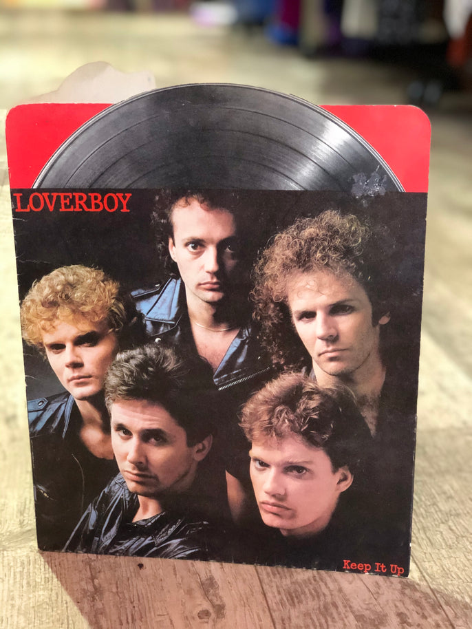 Vintage 80s Loverboy Novelty Organization Folder | Toys - 80s 90s Retro Vintage Clothing | Spark Pretty
