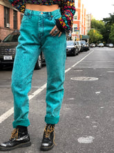 Vintage 80s Teal Wrangler Jeans | Pants - 80s 90s Retro Vintage Clothing | Spark Pretty