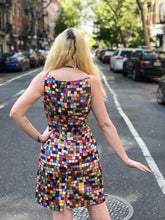 Vintage 90s Todd Oldham Rainbow Check Dress - Spark Pretty