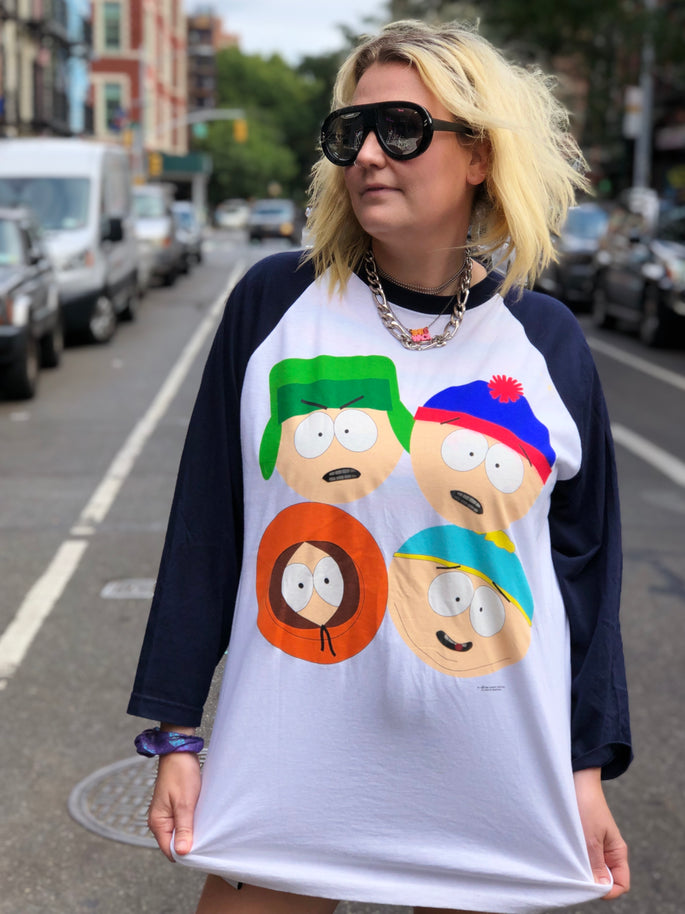 Vintage 1998 South Park Raglan T-shirt - Spark Pretty