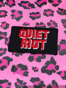 Vintage 80s Quiet Riot Patch | Patches - 80s 90s Retro Vintage Clothing | Spark Pretty