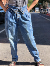 Vintage 80s Blue Mom Jeans | Pants - 80s 90s Retro Vintage Clothing | Spark Pretty