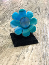 Blue Holo Flower Ring by Marina Fini | Rings - 80s 90s Retro Vintage Clothing | Spark Pretty