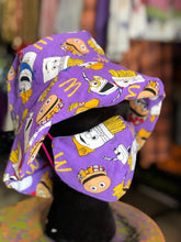 Fast Food Snacks Mask and Bucket Hat Set by Devani Weaver