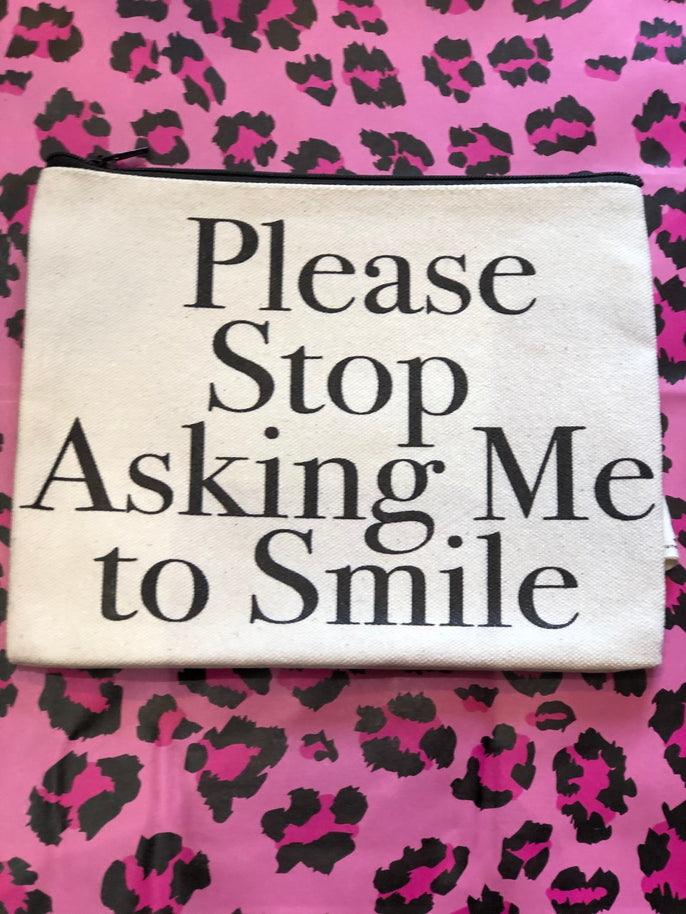 Stop Smiling Mini Bag by Pamela Barsky | Bags - 80s 90s Retro Vintage Clothing | Spark Pretty