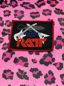 Vintage 80s Ratt Patch | Patches - 80s 90s Retro Vintage Clothing | Spark Pretty