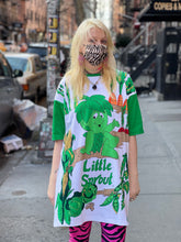 Vintage 80s Jolly Green Giant Sprout T-shirt Dress