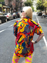 Vintage 80s/90s Colorful Geometric Shirt |  - 80s 90s Retro Vintage Clothing | Spark Pretty