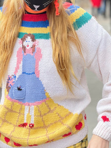 Vintage 80s Wizard of Oz Sweater