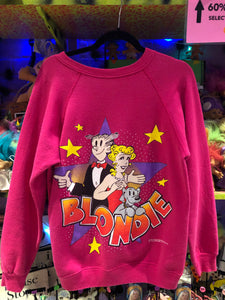 Vintage 90s BLONDIE cartoon Novelty Sweatshirt