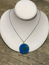 Earth Globe Glitter Necklace by No Basic Bombshell