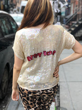 Vintage 80s Sequin Betty Boop Blouse | Shirt - 80s 90s Retro Vintage Clothing | Spark Pretty