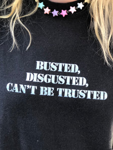 Vintage 80s Busted T-shirt | T Shirt - 80s 90s Retro Vintage Clothing | Spark Pretty