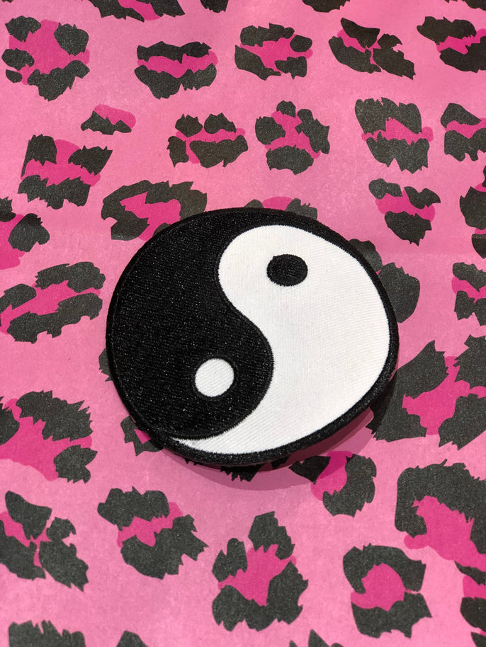Vintage 80s Yin Yang Patch | Patches - 80s 90s Retro Vintage Clothing | Spark Pretty