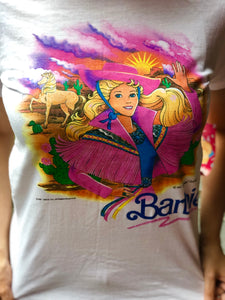 Vintage 1990 Barbie T-shirt | T Shirt - 80s 90s Retro Vintage Clothing | Spark Pretty