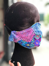 Custom Handmade Colorful Embellished Mask | Mask - 80s 90s Retro Vintage Clothing | Spark Pretty
