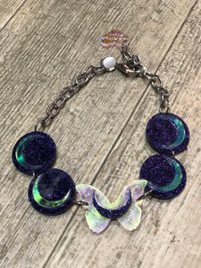 Butterfly Moon Choker by Marina Fini | Necklaces - 80s 90s Retro Vintage Clothing | Spark Pretty