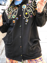 Vintage 80's Gem Bedazzled Jacket