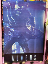 Vintage 80s Aliens Movie Poster
