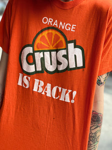 Vintage 80s Orange Crush Soda T-shirt