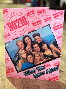 Vintage 90s Beverly Hills 90210 Novelty Organization Folder | Toys - 80s 90s Retro Vintage Clothing | Spark Pretty