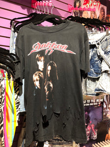 Vintage 90s Dokken shredded and thrashed T-shirt | T Shirt - 80s 90s Retro Vintage Clothing | Spark Pretty