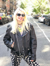Vintage 80s Madonna Leather Moto Jacket | Jackets - 80s 90s Retro Vintage Clothing | Spark Pretty