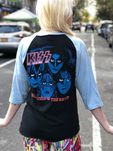 Vintage 1982 KISS Creatures of the Night Double Sided T-shirt