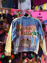 Vintage 80s Painted Jean Jacket | Jackets - 80s 90s Retro Vintage Clothing | Spark Pretty
