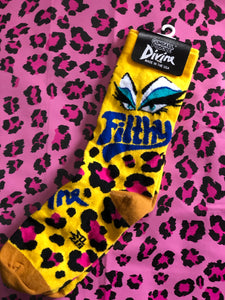 Divine Filthy Socks by Gumball Poodle | Socks - 80s 90s Retro Vintage Clothing | Spark Pretty