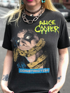 Vintage 1986 Alice Cooper T-shirt | T Shirt - 80s 90s Retro Vintage Clothing | Spark Pretty