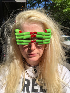 Zombie Hand Novelty Glasses | Sunglasses - 80s 90s Retro Vintage Clothing | Spark Pretty