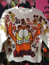 Vintage 80s Garfield & Friends Super Soft Vintage Sweatshirt |  - 80s 90s Retro Vintage Clothing | Spark Pretty