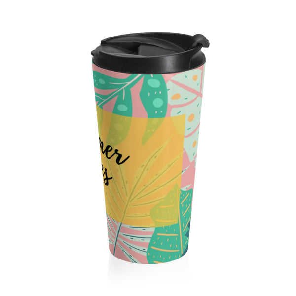 Summer Vibes Steel Mug