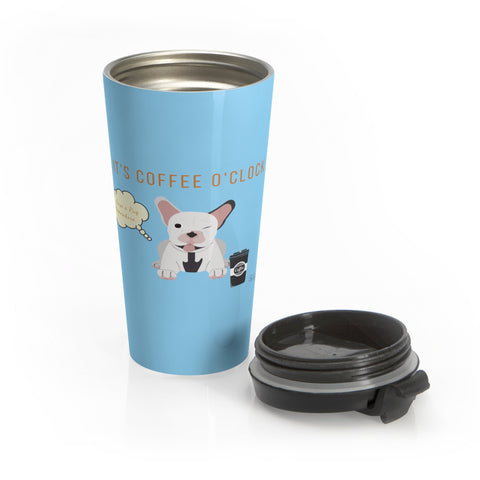 Pug Stainless Steel Mug